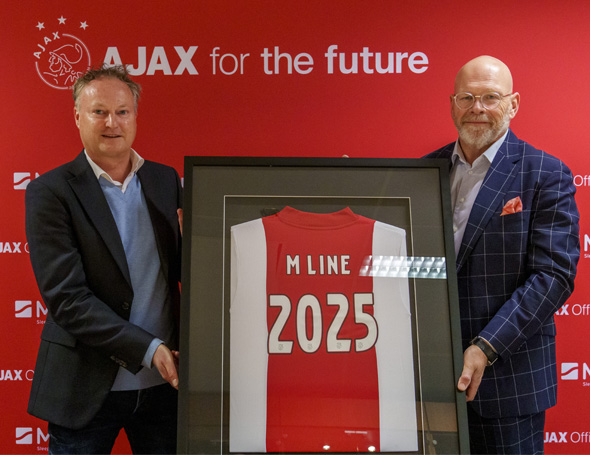 M line wordt Official Supplier van AFC Ajax