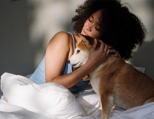 Wel of geen huisdieren in de slaapkamer?